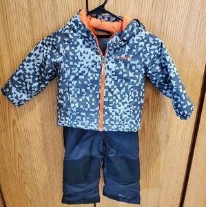 Columbia winter coat and snow pants